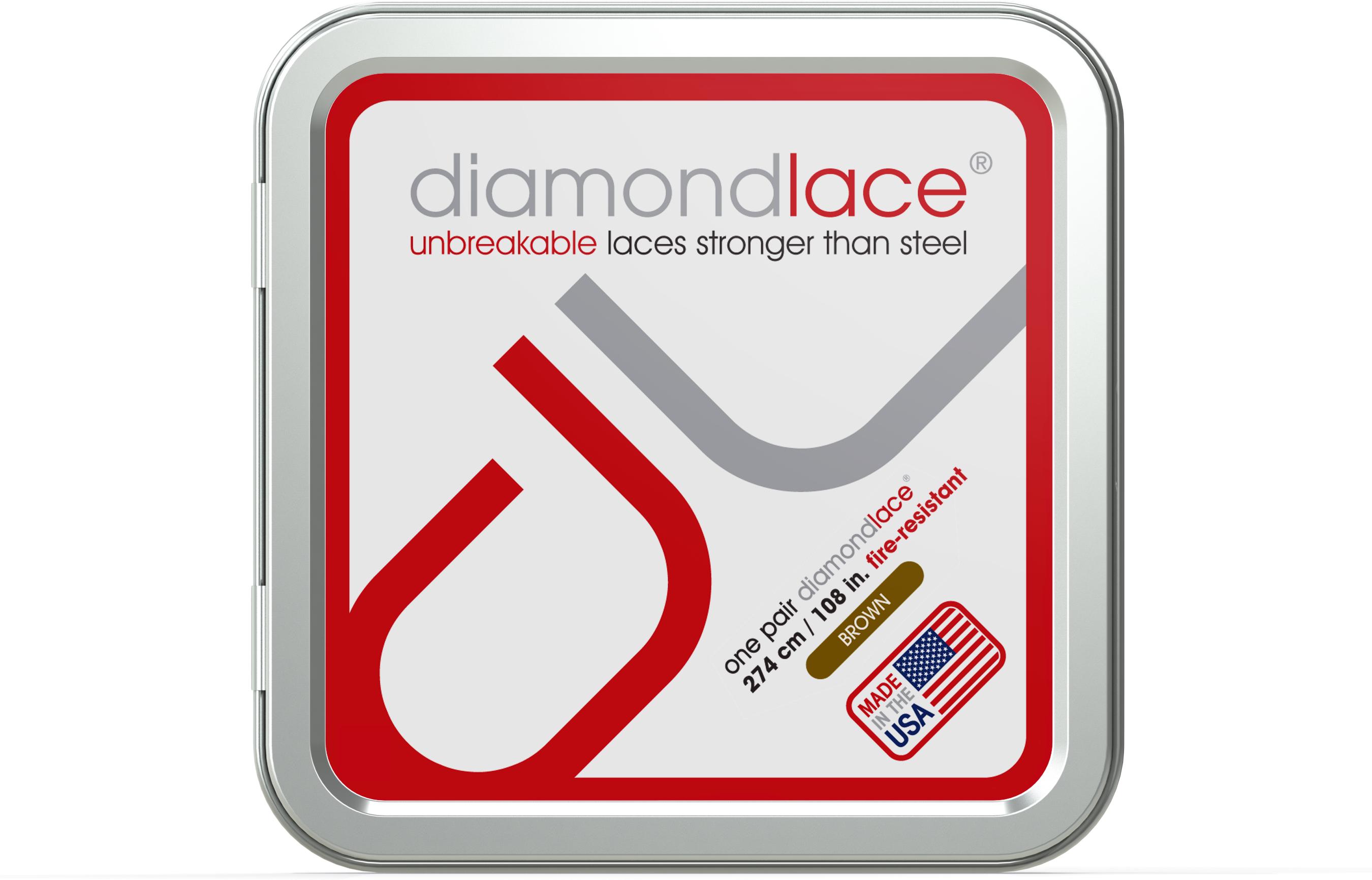 brown shoe laces | diamondlace™