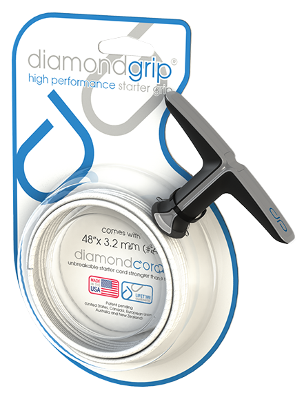 2 finger pull cord handle | diamondgrip™