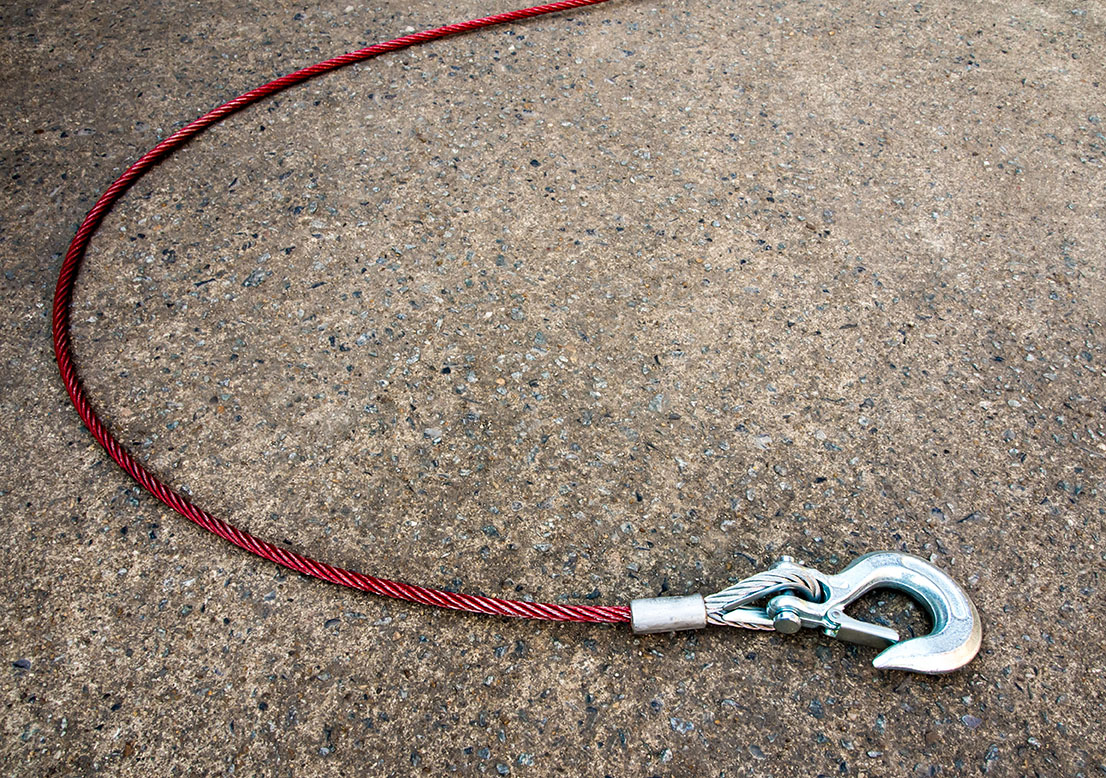 winch cable   winch line